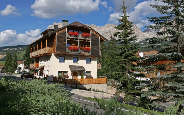 Bedrooms in Alta Badia
